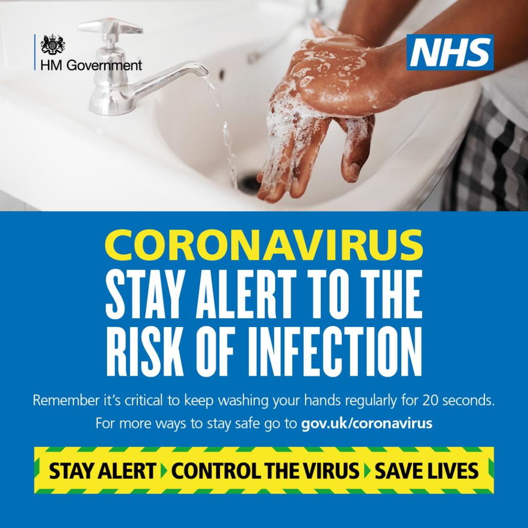 Stay Alert to Stay Safe Hand Hygiene