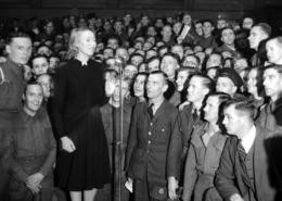 Corps Commemorates The Death Of Dame Vera Lynn