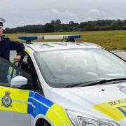 Corps Regional Director Volunteers For RAF Police