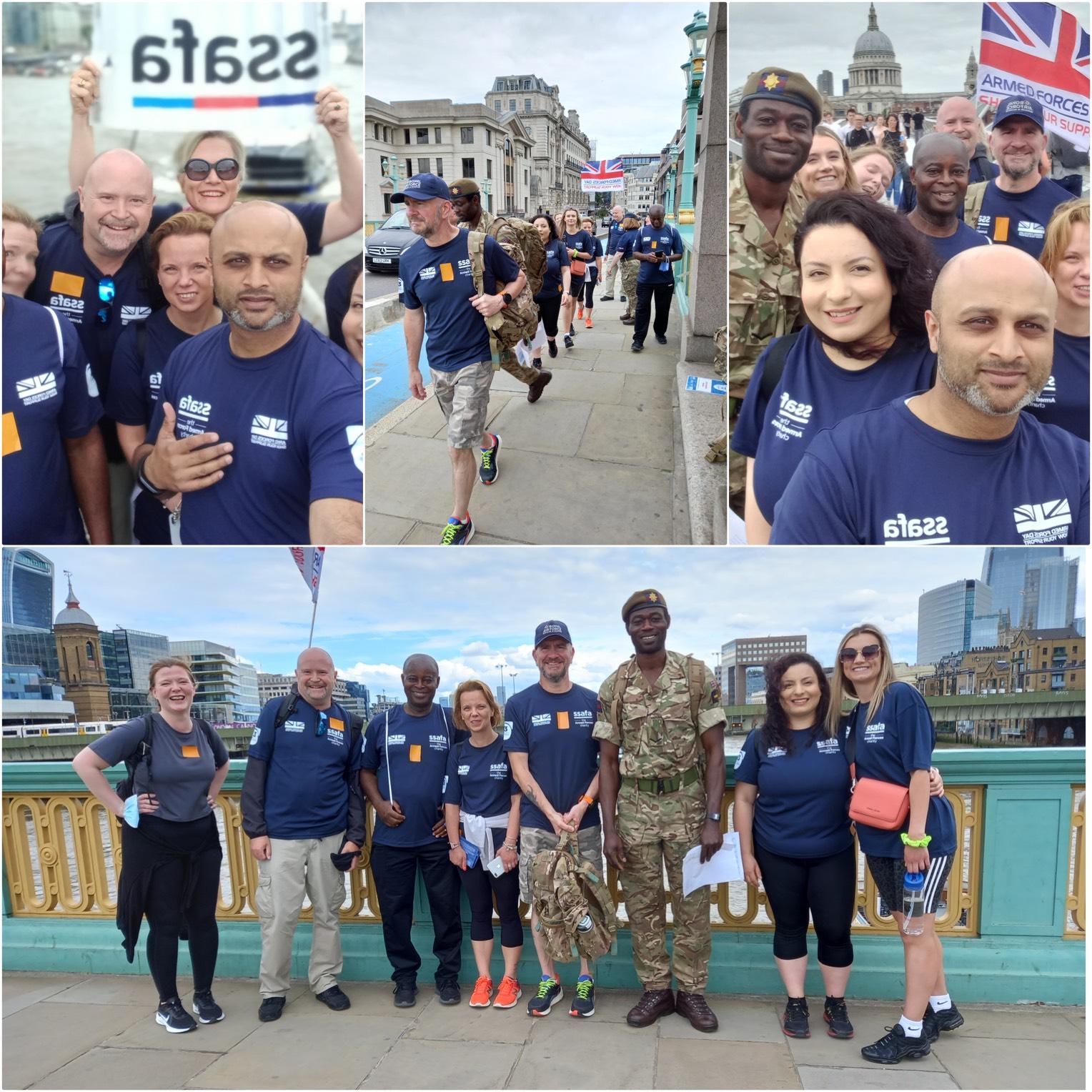Armed Forces Day - 13 Bridges Walk